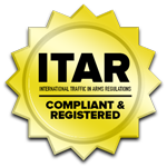 ITAR Compliant & Registered